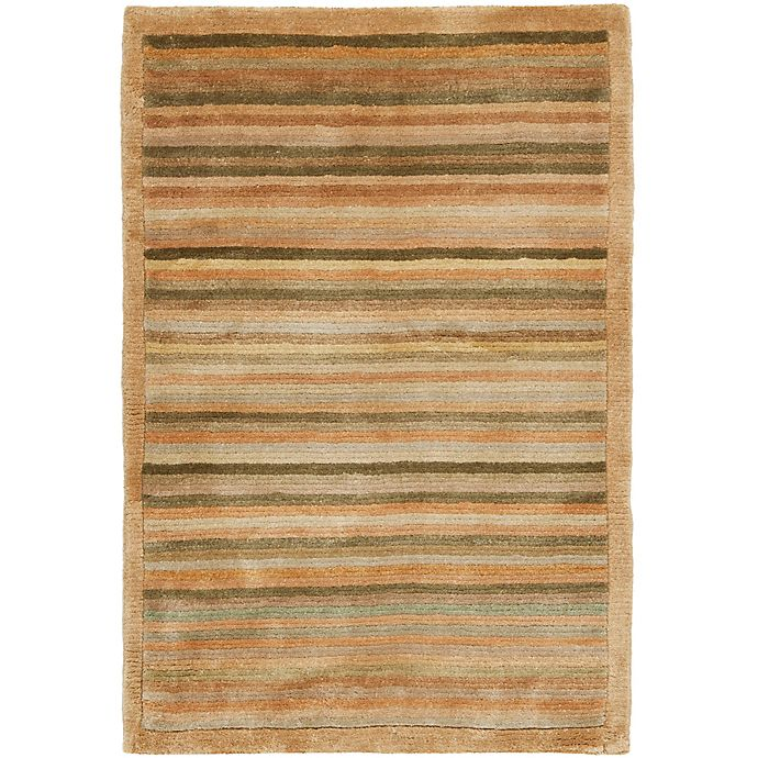 Alternate image 1 for Safavieh Tibetan Stripe Accent Rug
