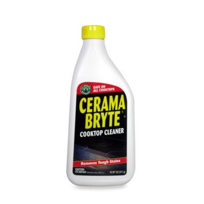 Cerama Bryte 174 Glass Ceramic Cooktop 18 Oz Cleaner Bed
