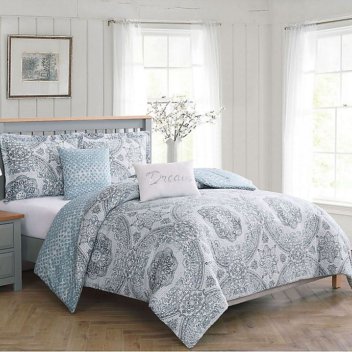 Alternate image 1 for Boho Living Picadilly Reversible Comforter Set