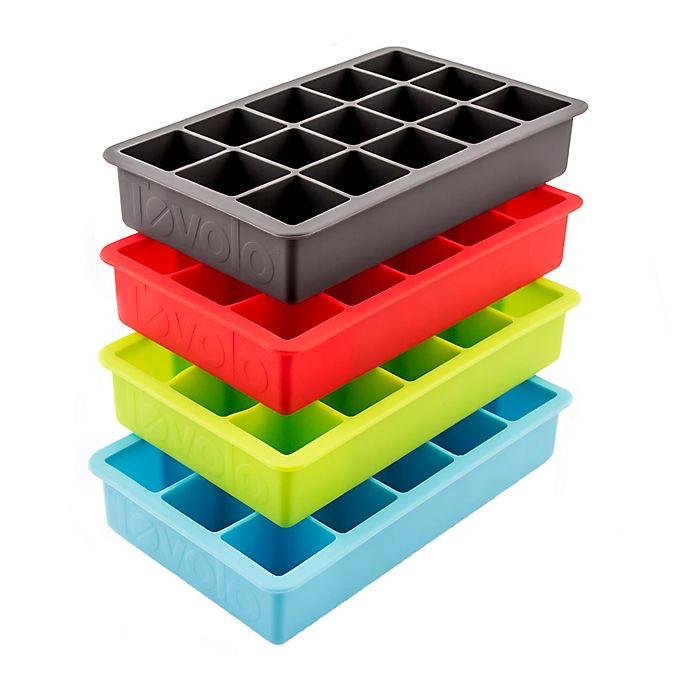 Alternate image 1 for Tovolo® Perfect Ice Cube Trays (Set of 4)