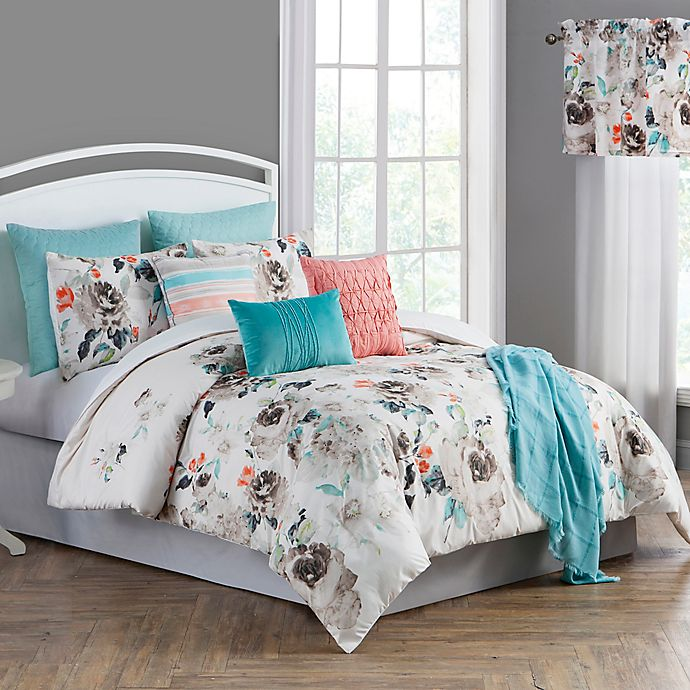 Alternate image 1 for Elena 10-Piece Comforter Set