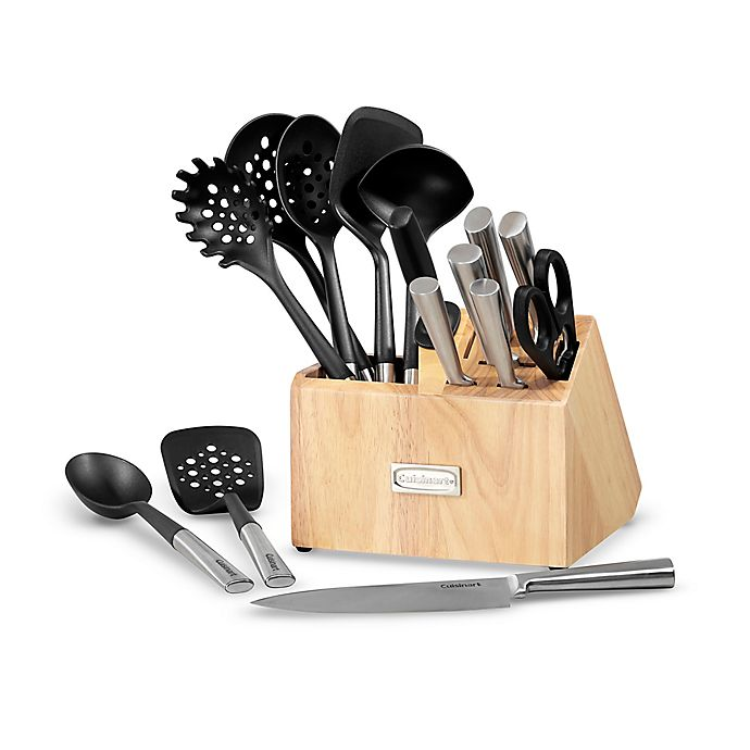 Alternate image 1 for Cuisinart® 16-Piece Cutlery and Tool Block Set