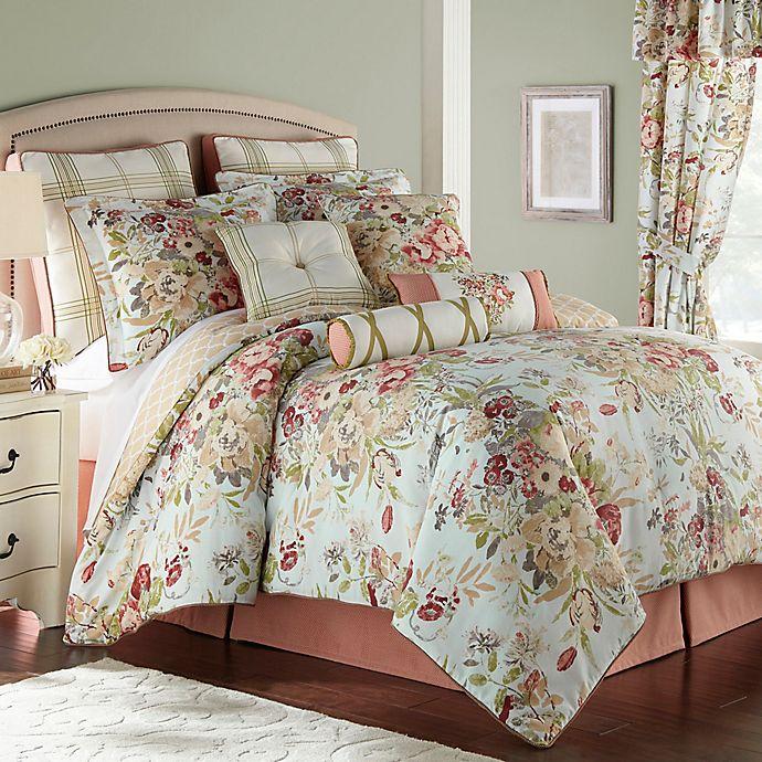 Alternate image 1 for Rose Tree Lorraine Reversible Comforter Set