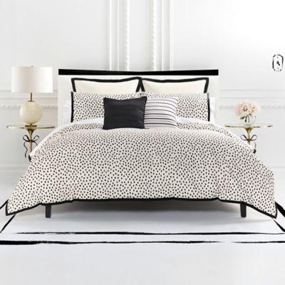 Kate Spade New York Flamingo Dot Reversible Comforter Set