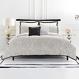kate spade new york Flamingo Dot Reversible Comforter Set