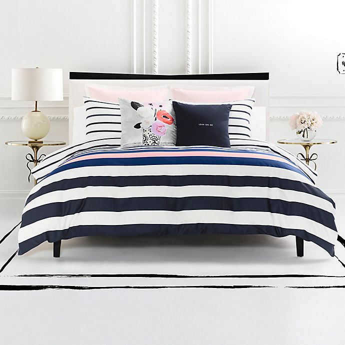 Kate Spade New York Chesapeake Stripe Reversible Comforter
