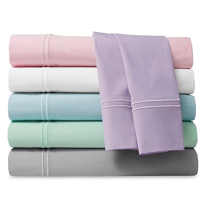 200 Thread Count Soft Washed Cotton Percale Sheet Set