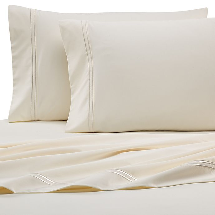 Alternate image 1 for PureCare® Elements™ Modal 300-Thread-Count King Pillowcases in Ivory (Set of 2)