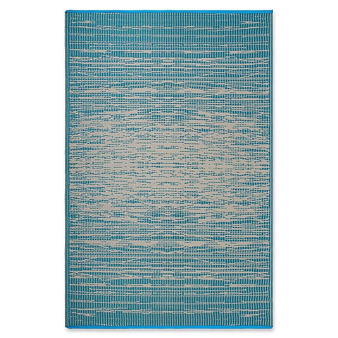 Alternate image 1 for Fab Habitat Brooklyn 4' x 6' Indoor/Outdoor Area Rug in Teal