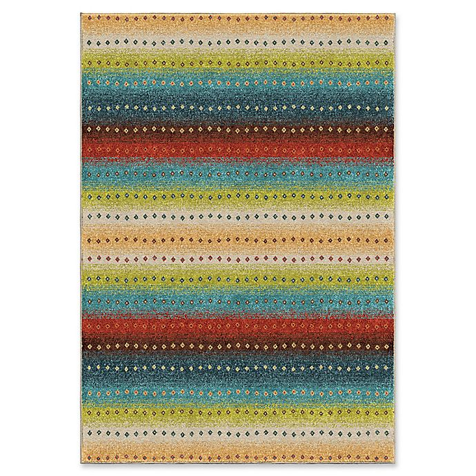 Orian Rugs Le Mans Stripes Indoor