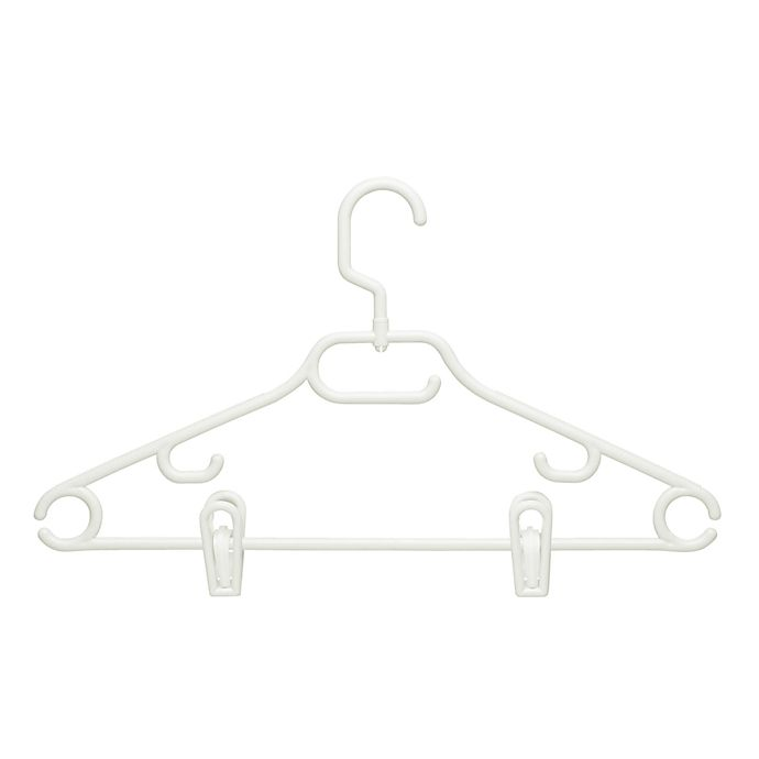 Alternate image 1 for Honey-Can-Do® 3-pack Recycled Hangers with Clips