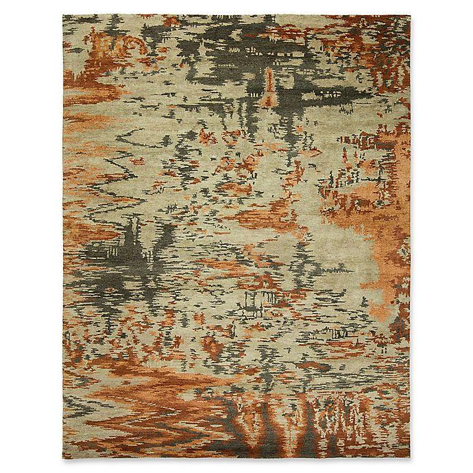 Natori Dynasty Rug In Burnt Orange Bed Bath Amp Beyond