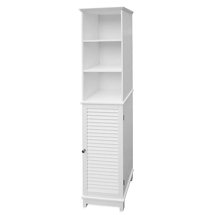 Alternate image 1 for Summit Tall Cabinet Tower in White