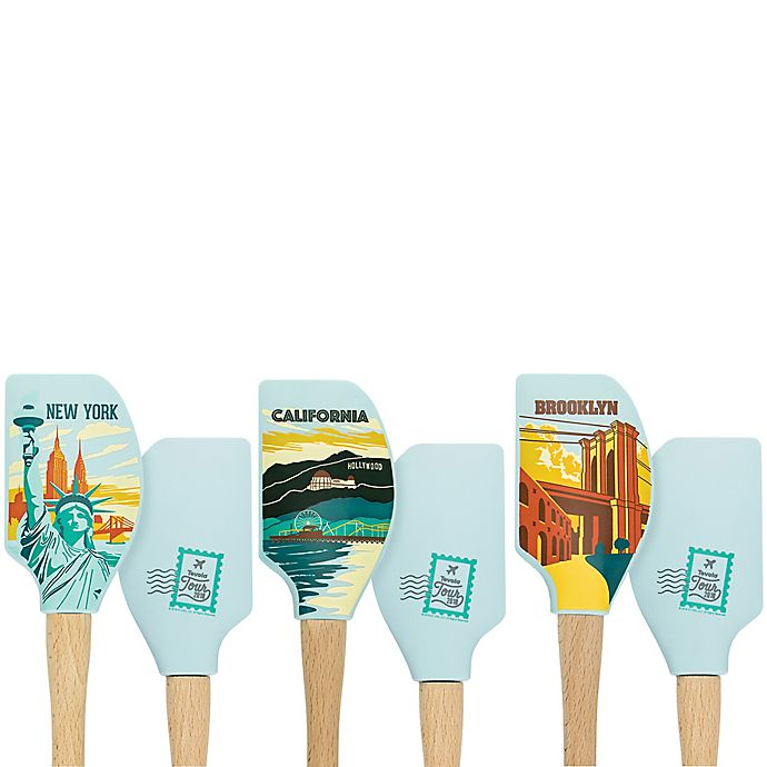 Alternate image 1 for Tovolo® Tour Spatulart® American Desinations Spatula Collection