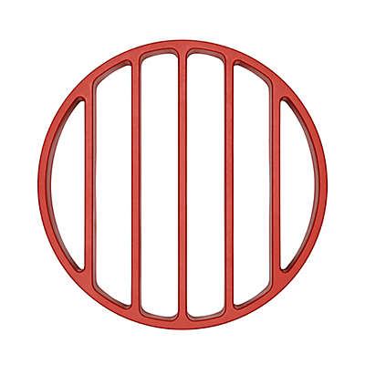 OXO Silicone Pressure Cooker Roasting Rack in Red