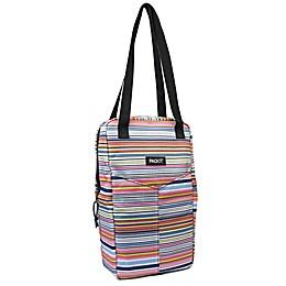 PackIt® Freezable 2-Bottle Multicolor Striped Wine Bag