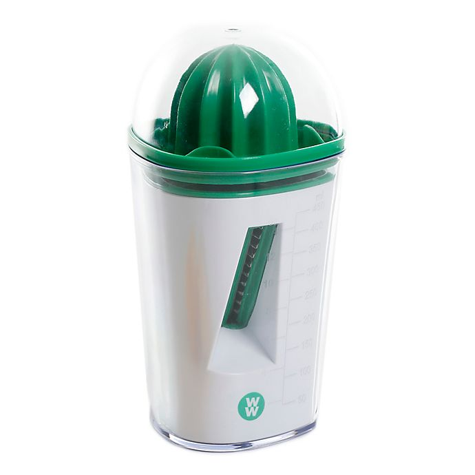 Alternate image 1 for Weight Watchers Combo Spiralizer/Citrus Juicer with Cleaning Brush in Green