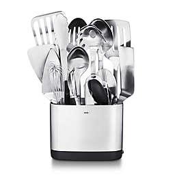 OXO 15-Piece Stainless Steel Kitchen Utensil Set