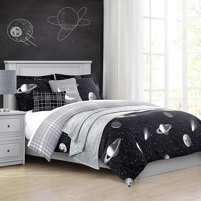 Baxton Studio Caelestis Reversible Comforter Set Bed
