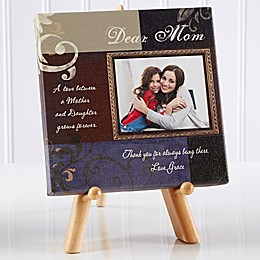 Dear Mom Photo Canvas Print