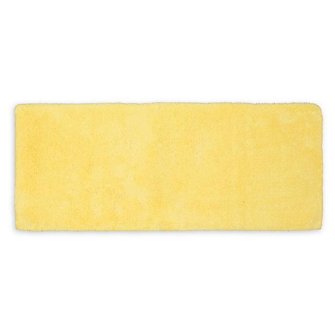 Alternate image 1 for Wamsutta® Ultra Soft 24-Inch x 40-Inch Bath Rug in Lemon