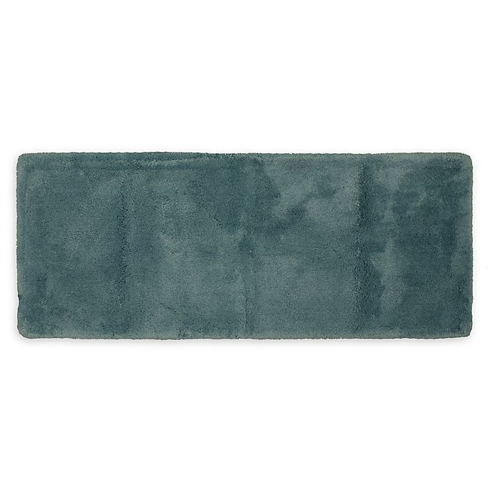 Alternate image 1 for Wamsutta® Ultra Soft 24-Inch x 40-Inch Bath Rug in Aqua