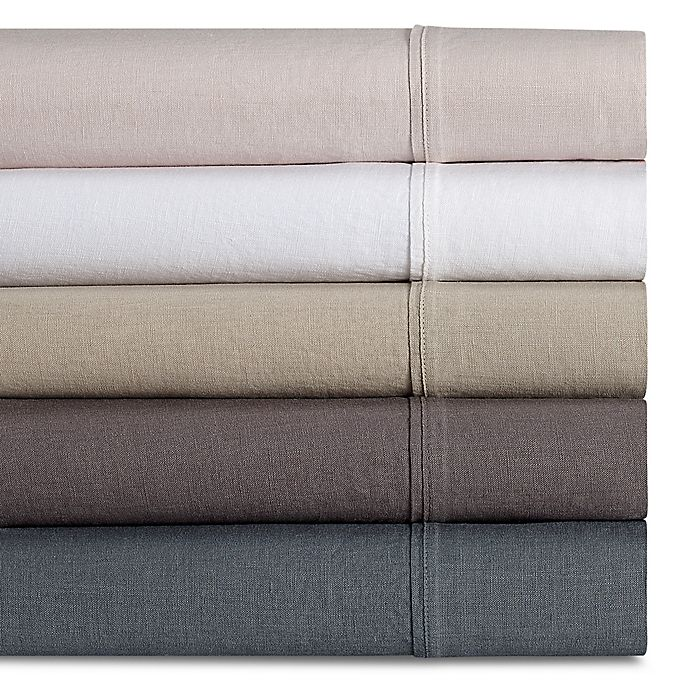 Alternate image 1 for Wamsutta® Vintage Washed Linen Percale Sheet Set