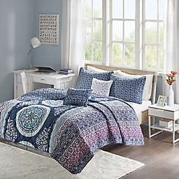Intelligent Design Loretta Coverlet Set