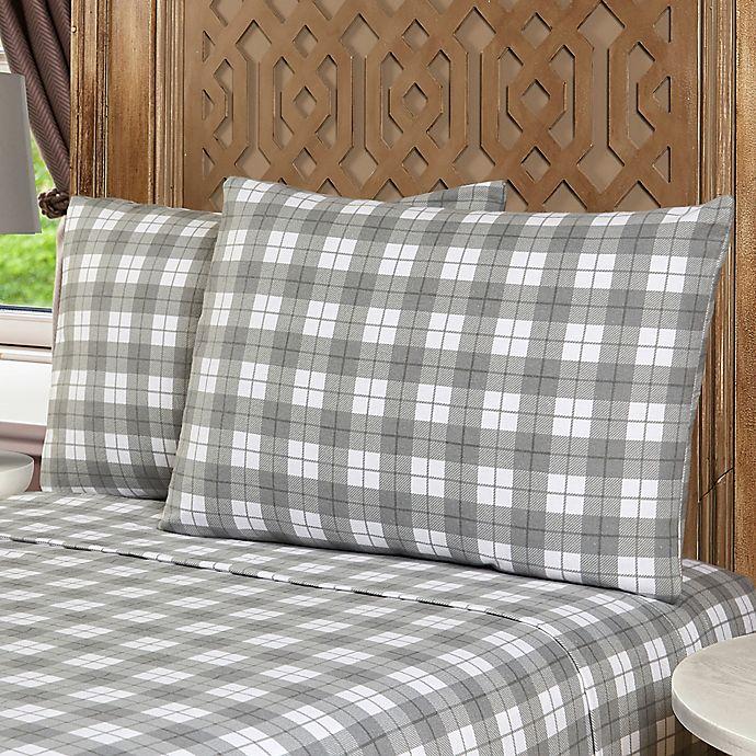 Morgan Home Ethan Turkish Cotton Flannel Sheet Set Bed Bath Beyond
