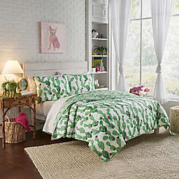 Vue® Otto Reversible 4-Piece King Quilt Set in White