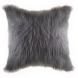 Flokati Faux Fur Throw Pillow Collection