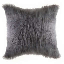 Flokati Faux Fur Throw Pillow Collection