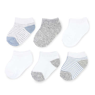 On The Goldbug™ 6-Pack Ankle Socks in Blue