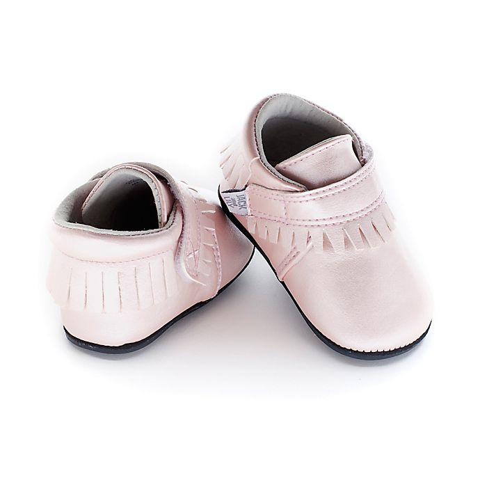 Alternate image 1 for Jack & Lily™ Size 30-36M Faux Leather Fringe Casual Shoes in Pink