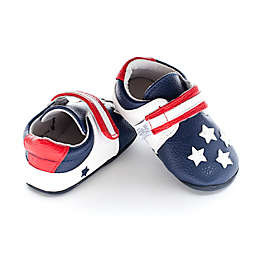 Jack and Lily™ Faux Leather USA Flag Casual Shoe in Blue