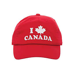 Little Me® Canada Day Baseball Cap in Red