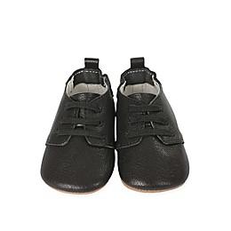 Robeez® First Kicks Owen Oxford Shoe in Black