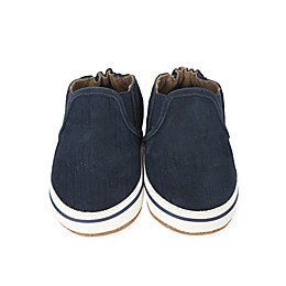 Robeez® Soft Sole Liam Basic Shoe in Navy