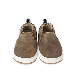 Robeez® Lenny Loafer Mini Shoez in Brown