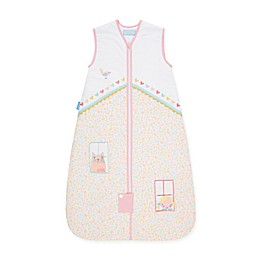 Grobag Doll's House Wearable Blanket in White/Pink