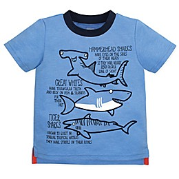 Gerber® Graduates Sharks T-Shirt in Blue