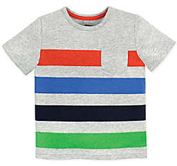 Gerber® Graduates Striped Pocket T-Shirt in Grey
