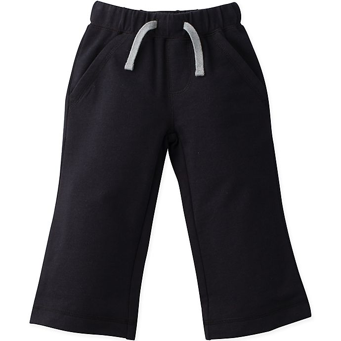 Alternate image 1 for Gerber® Graduates® Size 3T French Terry Pant in Black