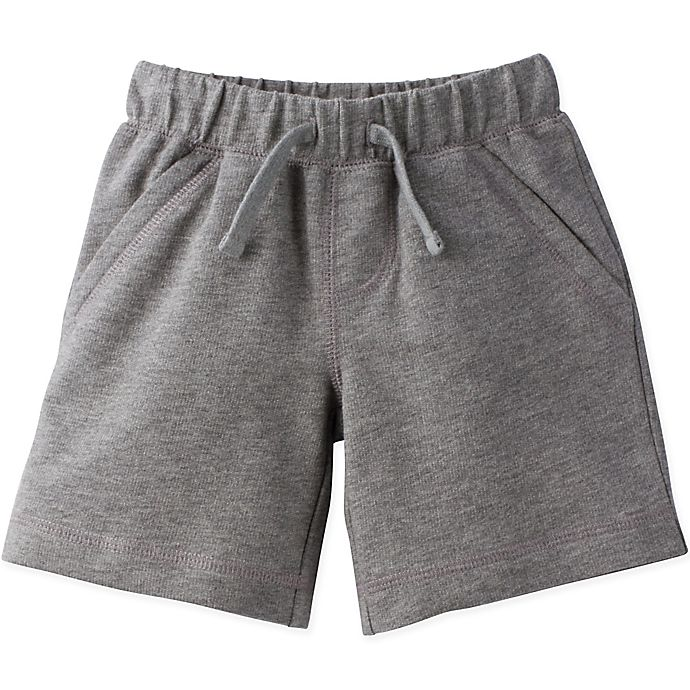 Alternate image 1 for Gerber® Graduates® Size 4T French Terry Shorts in Grey