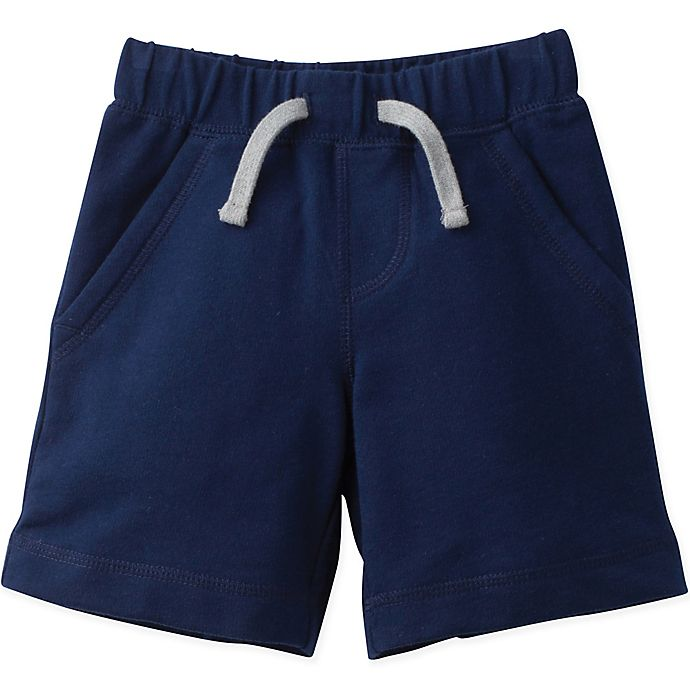 Alternate image 1 for Gerber® Graduates® Size 3T French Terry Shorts in Navy