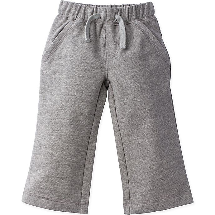 Alternate image 1 for Gerber Graduates Size 24M French Terry Pant in Grey