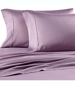 Set de sábanas queen de jersey modal Pure Beech® color lila