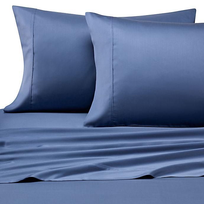 Alternate image 1 for Pure Beech® Modal Sateen California King Sheet Set in Navy