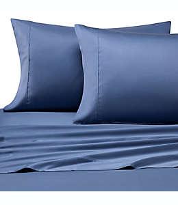 Set de sábanas king Pure Beech® de tela modal satinada en azul marino