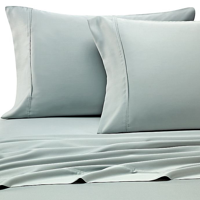 Alternate image 1 for Pure Beech® Modal Sateen Twin Sheet Set in Mint